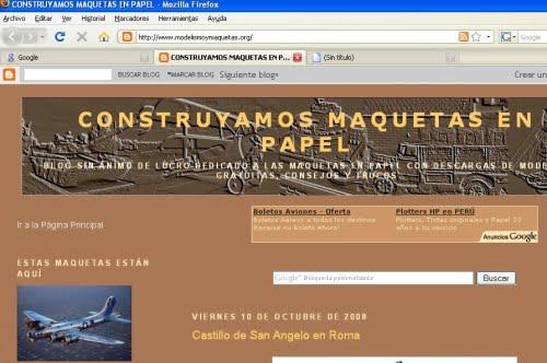 Firefox y su navegación por pestañas