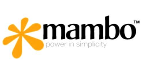 Logotipo de Mambo CMS