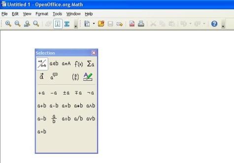 Openoffice con editor de fórmulas Latex