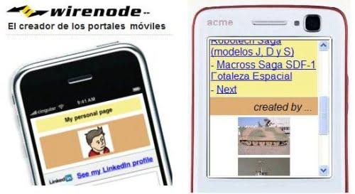 Wirenode en tu celular