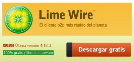 Descarga Lime Wire