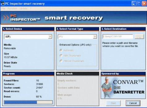Gestor de Pc Inspector Smart Recovery