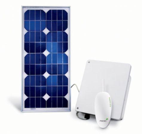 El router Wi-Fi con energía solar ¿será algo así?