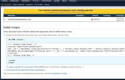 Código Html para insertar en Blogger