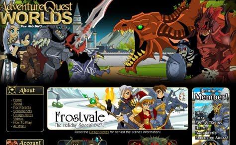 Adventure Quest un juego al estilo Browsergame