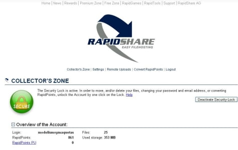 Un ejemplo de Collector Zone