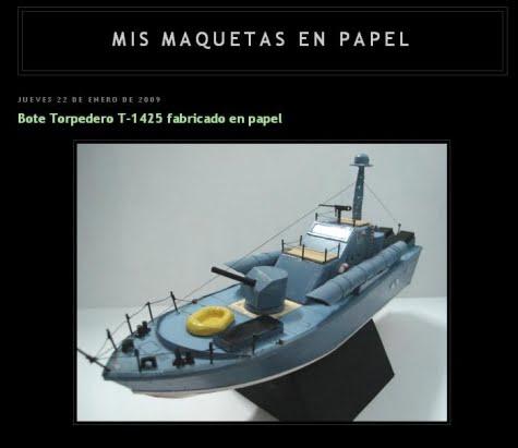"""Fotoblog de """"Mis Maquetas en Papel"""""""