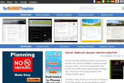 Sitio oficial de OurBloggerTemplates
