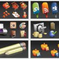 Los diferentes paquetes de iconos que se pueden descargar