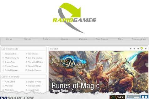 Portada de Rapid Games