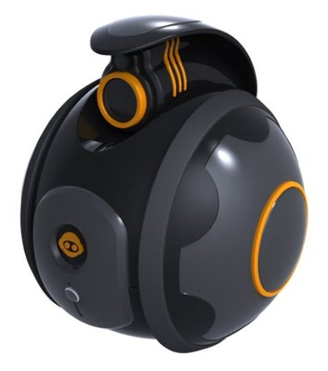 Esta es la cámara Spyball