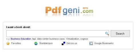 Buscador PdfGeni versión Beta