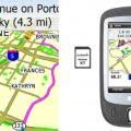 La tarjeta Garmin Mobile XT