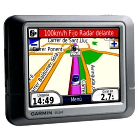 Sistema GPS portátil Garmin Nuvi 250