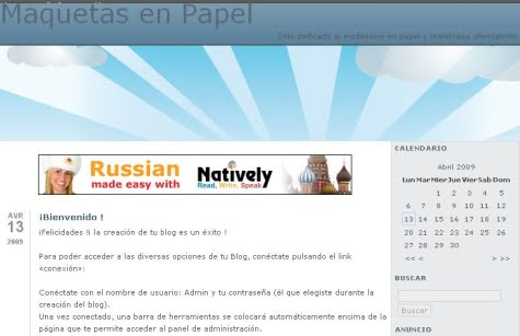 Un blog creado con HazBlog