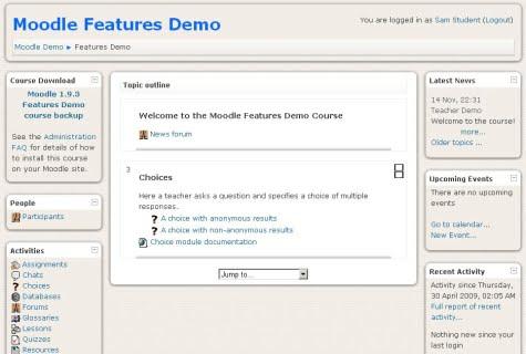 Un ejemplo de un sitio creado con Modle