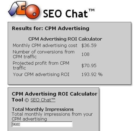 Resultados obtenidos con la herramienta de SEO Chat