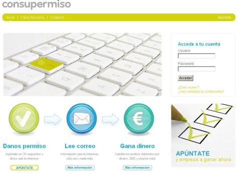 Portal oficial de ConsuPermiso