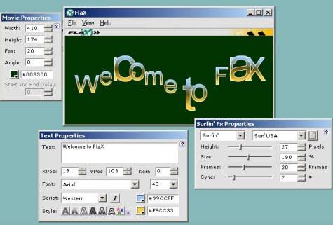 Interfaz de trabajo de Flax
