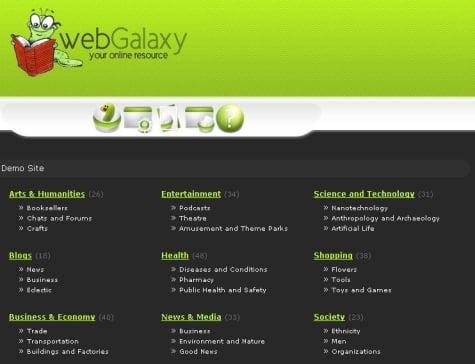 Modelo de plantilla pHp Link Directory