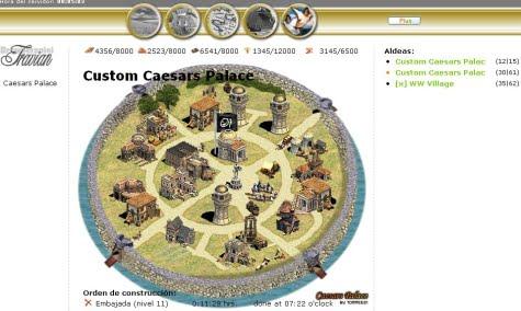 Centro de la aldea en versión personalizada