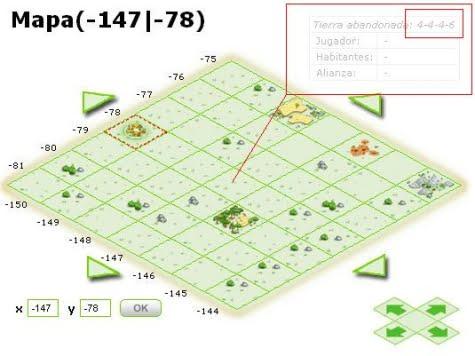 Verificación de la distribución de la producción en tierras sin dueño