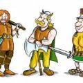 Germanos - Galos - Romanos