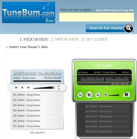 Opciones y configuración de nuestro reproductor en TuneBum