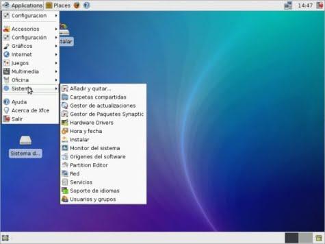 Xubuntu 9.04