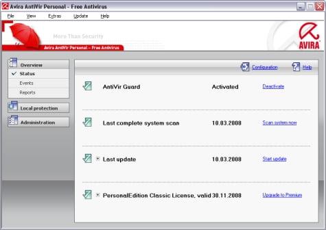 Avira antivirus personal gratis