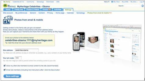 MyHeritage nueva seccion de fotos