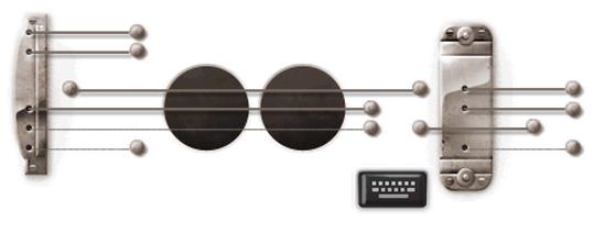 Logo de Google: Les Paul