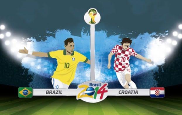 Brasil contra Croacia en vivo