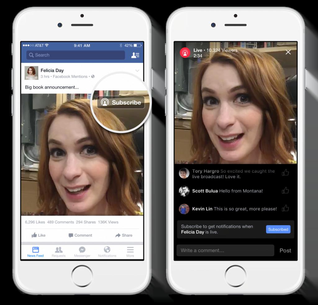 Facebook en vivo