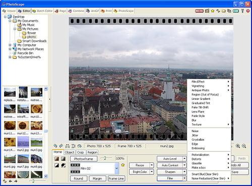 Edición de fotos con Photoscape
