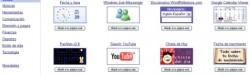 Google gadgets, un servicio que ofrece gizmos gratis para tu Blog o Web