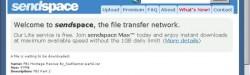 Sendspace, un excelente servicio de alojamiento de archivos