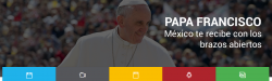 Cómo seguir la visita del Papa Francisco a México por Internet