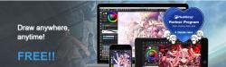MediBang Paint, un programa de dibujo gratuito